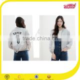 coats and jackets woman wholesale custom windbreaker nylon bomber jackets