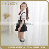 high quality girl students school uniform ,shirts and skirt uniform wholesale