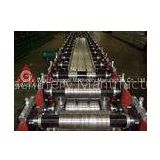 PLC Control Steel Floor Deck Roll Forming Machine , Roof And Floor Tile Making Machinery