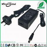 High quality 46V 1A AC DC power adapter switching adapter 100-240V with UL CE RoHS