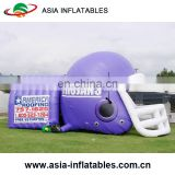Cheap Hot Sale Giant inflatable Baseball Helmet Tents / Inflatable Football Tunnel Entrance