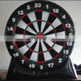 Happy Island giant inflatable dart game/inflatable soccer darts board
