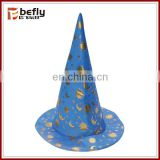 Children halloween wizard hat