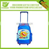 Cute Animal Design Girl Trolley School Bag Kids School Bag For Promotional Use