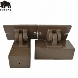 WPC fence post accessories mounting brackets