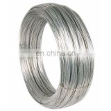Factory direct selling fencing binding wiremesh spring steel wire gi wire 4mm electro galvanized iron wire for sale