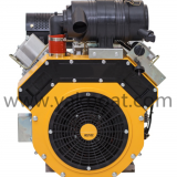 27hp 2 cylinder v-twin 4-stroke air-cooled diesel engine parts for sale