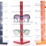 2016 hot selling cheap plastic 6 pairs pieces sunglasses display rack