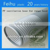 China high quality PVC Flexible ventilation hose pipe Clothes Dryer Parts end cover/duct/vent