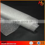 PVC Privacy Decorative Frosted Self Adhesive Film Glass Sun Protection Film