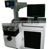 20141 hot sale YAG 3D 100w laser marking machine for metal looking for metal for bearing