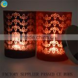Exported to Canada scented candle laser engraving on candles jars white wax tart burner                                                                         Quality Choice