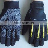 Spandex Finger Protection Elastic Cuff Oil industry, Household and Mechanic Work Gloves