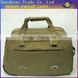 Retro-style compass luggage trolley bag(HL10)