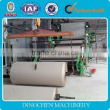3200mm High Capacity Brown Paper Kraft Paper Making Machinery Machine For Paper Mill