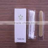 PLA 100% biodegradable plastic toothbrush toothpaste travel kit /hotel slippers hotel shampoo&bath gel hotel soap and vanity kit