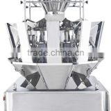 multihead electronic scale weigher for chewing gum ,small plastic components with packing machine