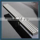 customized long stainless steel floor drain shower drain/shower channel