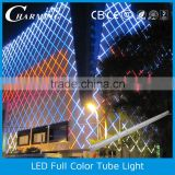 waterproof outside colorful led border light led wall decorative light