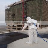 Quick-setting liquid rubber roof spray coating for concrete coating