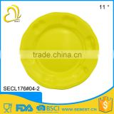 imitation porcelain Korean series ware color melamine plate dinner