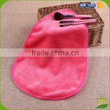 100% polyester remover usage drop shaped makeup cloth                                                                         Quality Choice