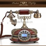 The new European-style antique telephones fashion high-end vintage retro craft villa home telephone Alice