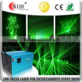 Computer Control Outdoor Green Laser Stage Light Show,Advertising 10W Laser Logo Projector