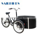 aluminum electric bike cargo