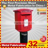 Kindle waterproof outdoor custom metal Steel American mailbox coin bank