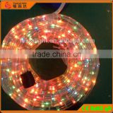 wholesale 13mm Round 2 Wires mix color rice light for christmas decoration