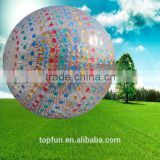 Hot sale,cheap and colorful zorb ball,Human Hamster ball,Rolling inflatable ball for grass or hill