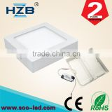 6W Warm White Aluminum Composite Panel Price Led Ceiling Panel Down Light Indoor Wall Lamp