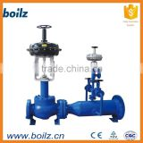 The electric actuators Temperature and pressure reducing valve Split pressure reducer control valve