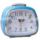 Plastic trapezoid table alarm clock