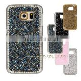 cover for Samsung galaxy S6 Case with crystal bling rhinestone diamond mobile phone case