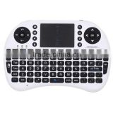 I8 gaming and QWERTY keyboard and mouse combo 2.4G fly air mouse keyboard support English , Russian and hebrew version