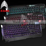 2016 A-bomb waterproof mechanical keyboard computer keyboard with LED light