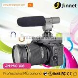 JN-MIC-108 DV Stereo MIC Microphone for Sony Video Camcorder Camera DSLR