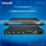 FUTV3506 DVB-T2 modulator (2*ASI in,1* IP out,QPSK/16QAM/64QAM/256QAM )with network system