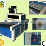 Alibaba express wooden floor desktop uv curing system conveyor for screen printong TM-400UVF