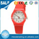 girl boy high quality new fashion design waterproof silicone band plastic children watch
