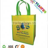 Fashionable laminated promotion non woven bag