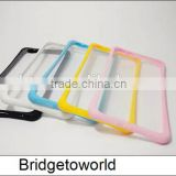 Universal Silicone Cell Mobile Phone Border Protective Cover Silicone Frame Case for iphone 6 6s