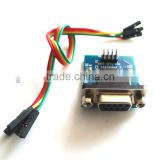 RS232 Serial Port To TTL Converter Module SP3232 With Dupont Cable