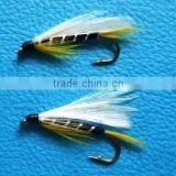 Black Ghost Streamer trout flies