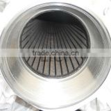 Stainless steel threaded wedge wire screens