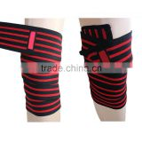 powerlifting Elastic Webbing For Red Line Knee Wraps/Hight Quality weightlifting knee wraps