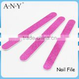 Nail Art Care Shining And Polishing Purple Pink Paper Glitter Nail File