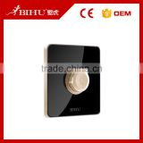 China switch manufacturer BIHU Acrylic glass panel led touch dimmer switch